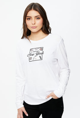 Classic NYC Long Sleeve Graphic Tee