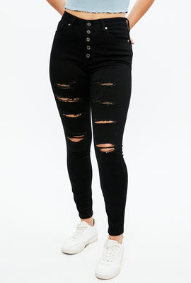 Seriously Stretchy Super High Rise Jegging