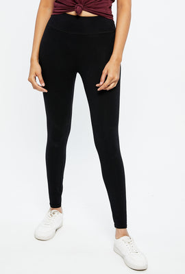 High Rise Embroidered Legging
