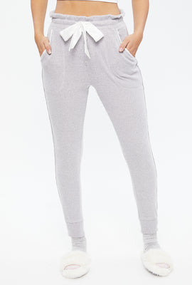 Super Soft Ribbed High Rise Jogger