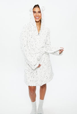 Plush Belted Robe