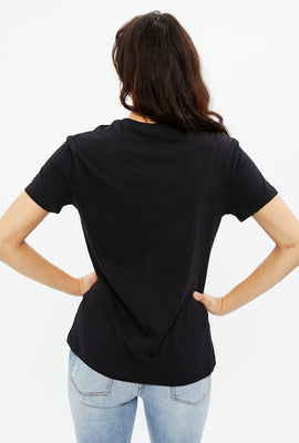 Aéropostale Moon Phases Boyfriend Graphic Tee