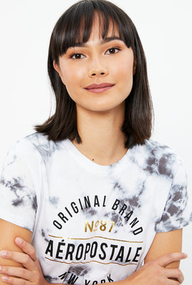 Aéropostale Classic Meteorite Tie Dye Graphic Tee