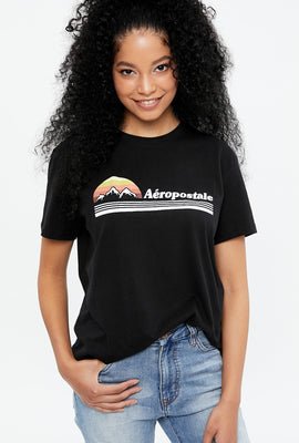 Aéropostale Mountain Boyfriend Graphic Tee