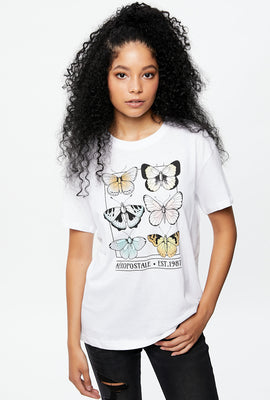 Butterfly Boyfriend Graphic Tee