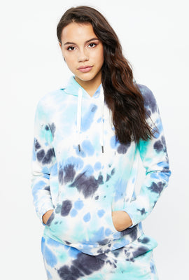 Aéropostale Classic Original Tie Dye Graphic Hoodie