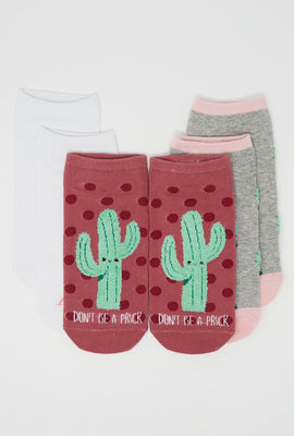 Aéropostale Don't Be a Prick Ankle Socks 3-Pack