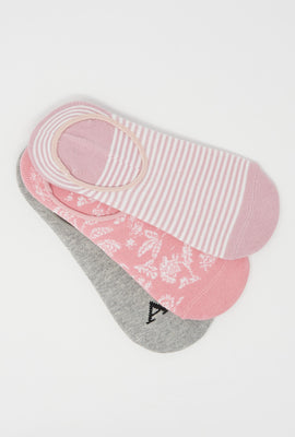 Aéropostale No Show Socks 3-Pack