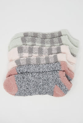 Cozy Ankle Socks 3-Pack