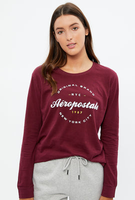 Classic Original Aéropostale Long Sleeve Graphic Tee
