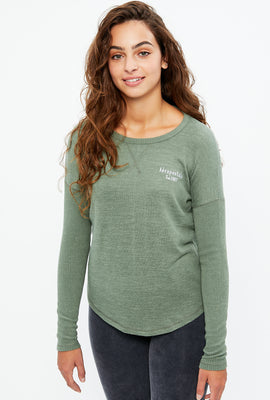 Aéropostale Super Soft Long Sleeve Graphic Tee
