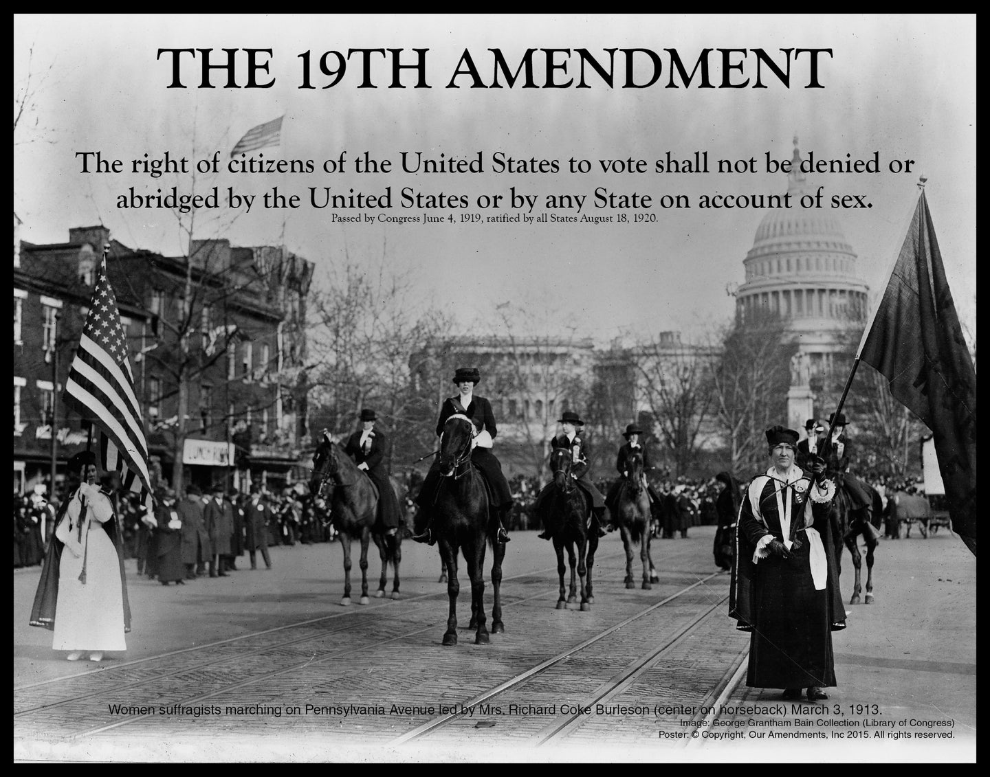 19th Amendment Anniversary Special <br> (14x11 Framed)
