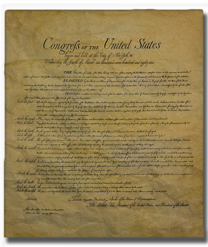 Bill of Rights, 1789