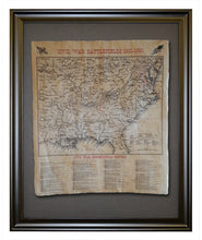 Civil War Battlefields 1861-1865, Framed