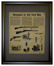 Weapons of the Civil War, Framed