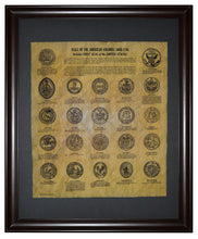 Seals Of The American Colonies 1606-1794, Framed