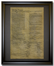United States Constitution, 1787 Framed