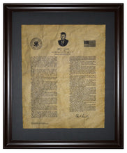 John F. Kennedy Inaugural Address - 1961, Framed
