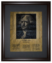 Thoughts from Thomas Jefferson, Framed
