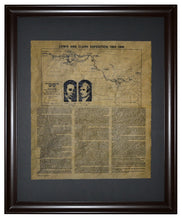 Lewis and Clark Expedition - 1804 - 1806, Framed