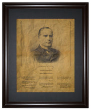 Thoughts from William McKinley, Framed