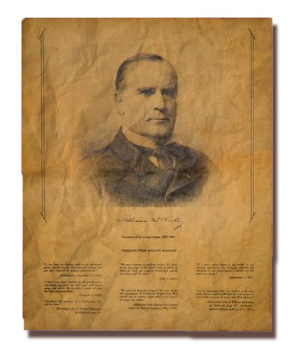 Thoughts from William McKinley