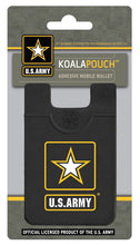 Officially Licensed United States Army Koala Pouch, adhesive mobile wallet.