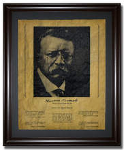 "Thoughts from Theodore Roosevelt <br> (11.25"" x 14.25"")"