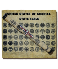 United States of America State Seals