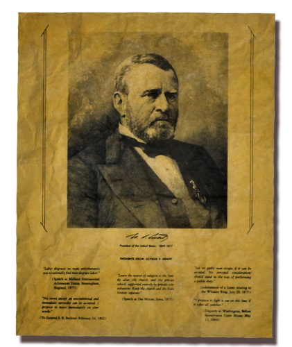 Thoughts from Ulysses S. Grant