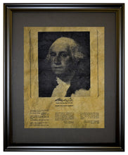 Thoughts from George Washington, Framed