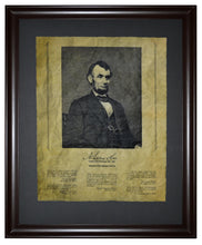 Thoughts from Abraham Lincoln, Framed