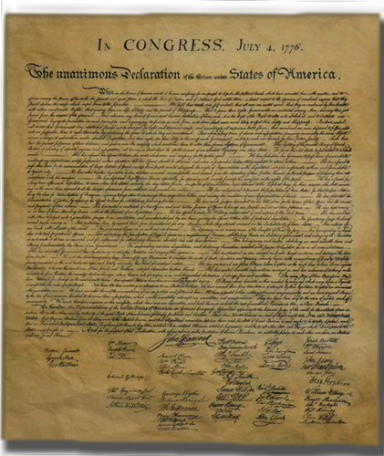 Declaration of Independence  1776, Poster Size