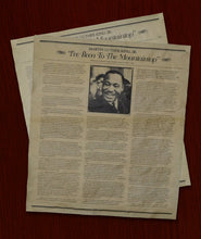 "Martin Luther King, Jr., ""I Have been to the mountiantop"" Speech. (14 X 16)"