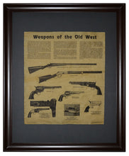 Weapons of the Old West, Framed