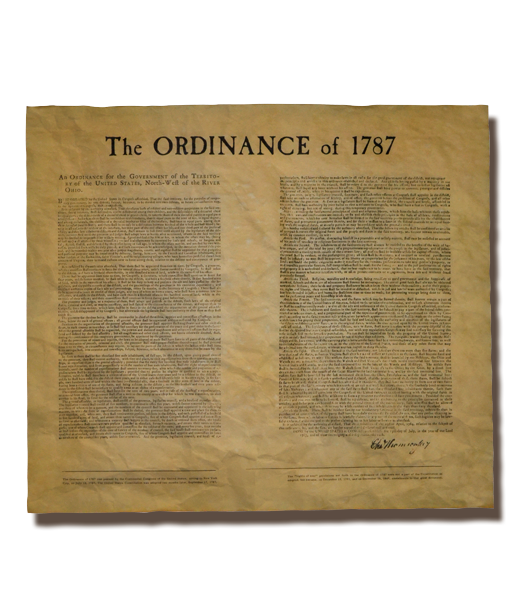 Ordinance Of 1787 (Northwest Territory)
