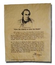"Patrick Henry, ""Give me Liberty of Give me Death"" Speech"