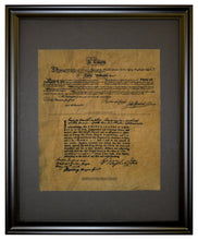Oath Of Allegiance Of George Washington At Valley Forge, Framed