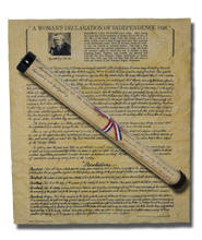 A Woman's Declaration of Independence - 1848