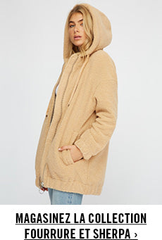 Urban Planet | Magasinez la collection Fourrure et Sherpa