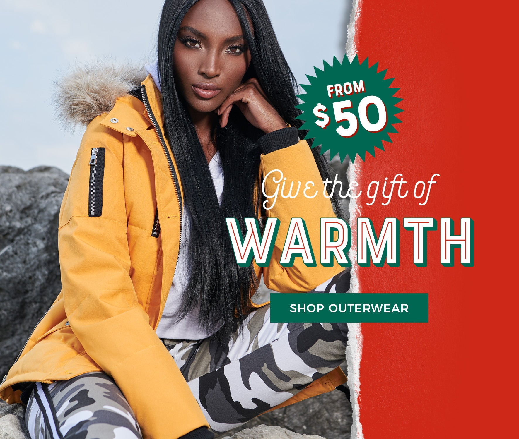 Urban Planet | Give The Gift of Warmth - Shop Outerwear from $50