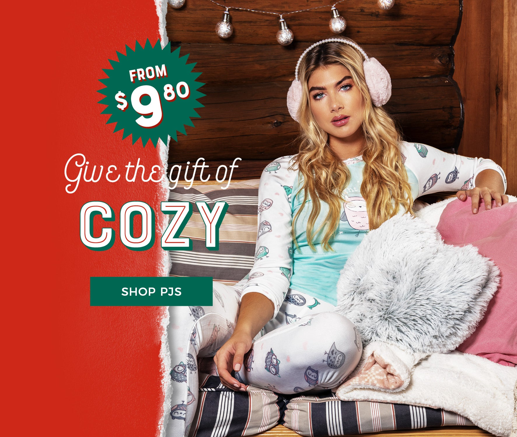 Urban Planet | Give The Gift of Cozy - Shop PJ's from $9.80