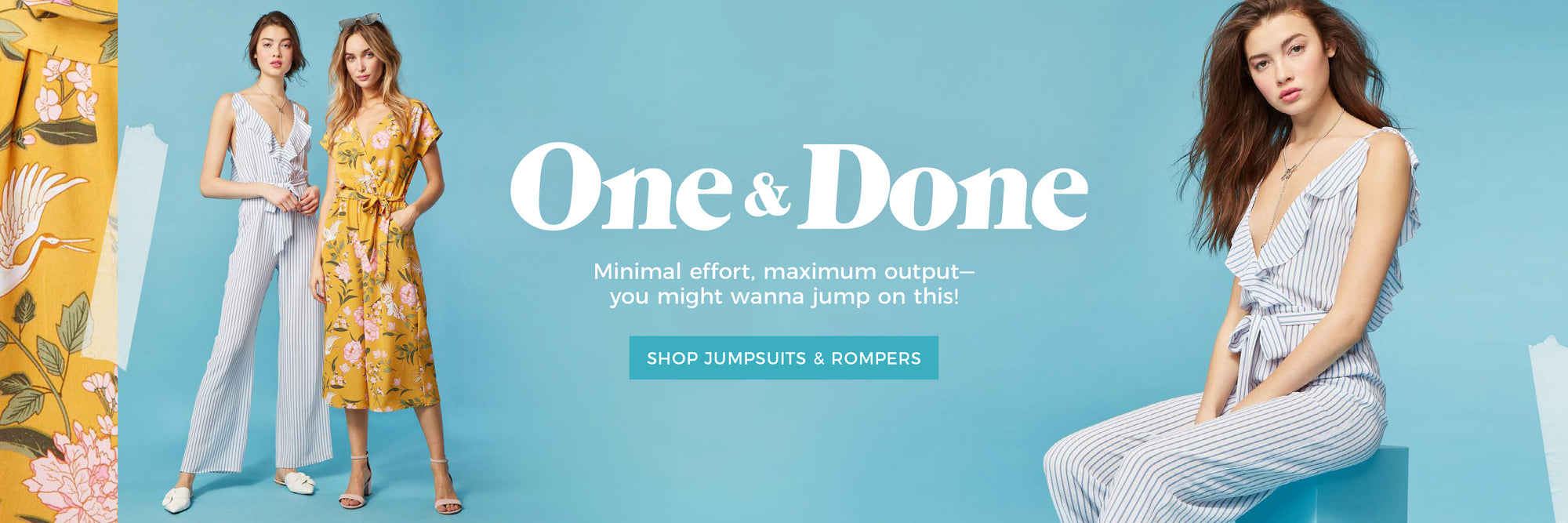 One & Done - Shop Jumpsuits & Rompers