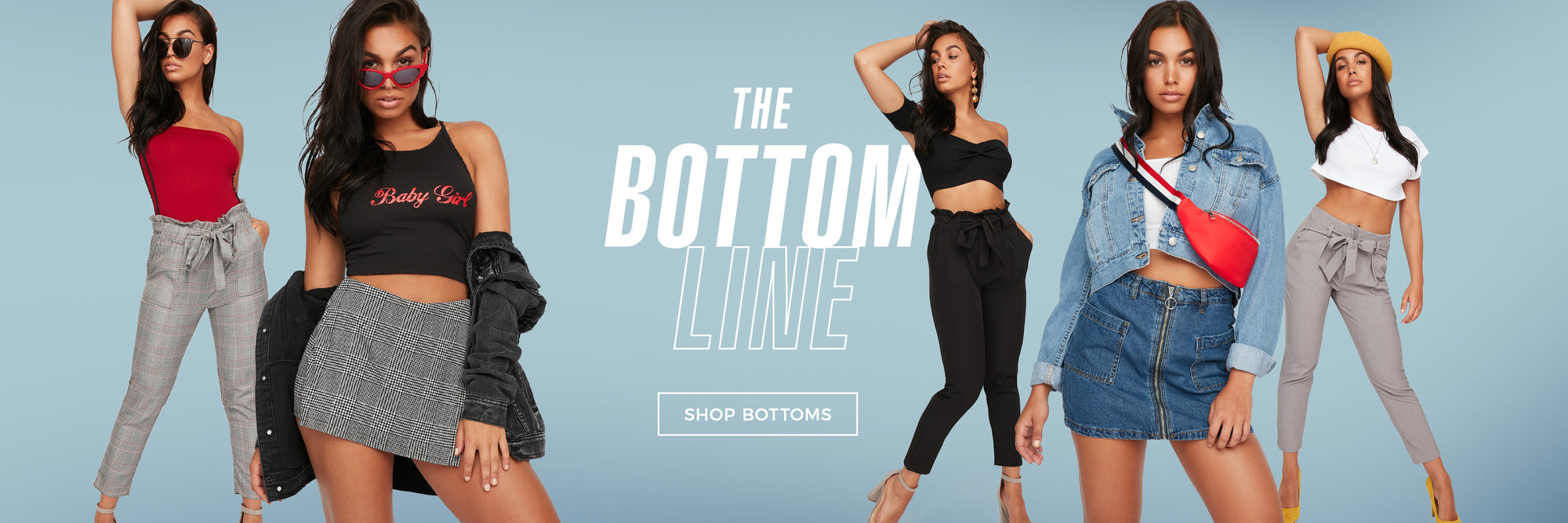 The Bottom Line - Shop Bottoms