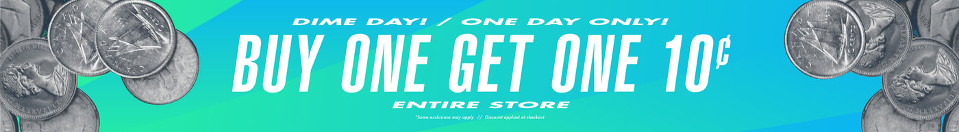 Dime Day! One Day Only! Buy One Get One 10 cents Entire Store