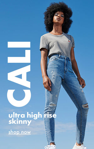 Urban Planet | Cali - Ultra high rise, skinny - Shop Now