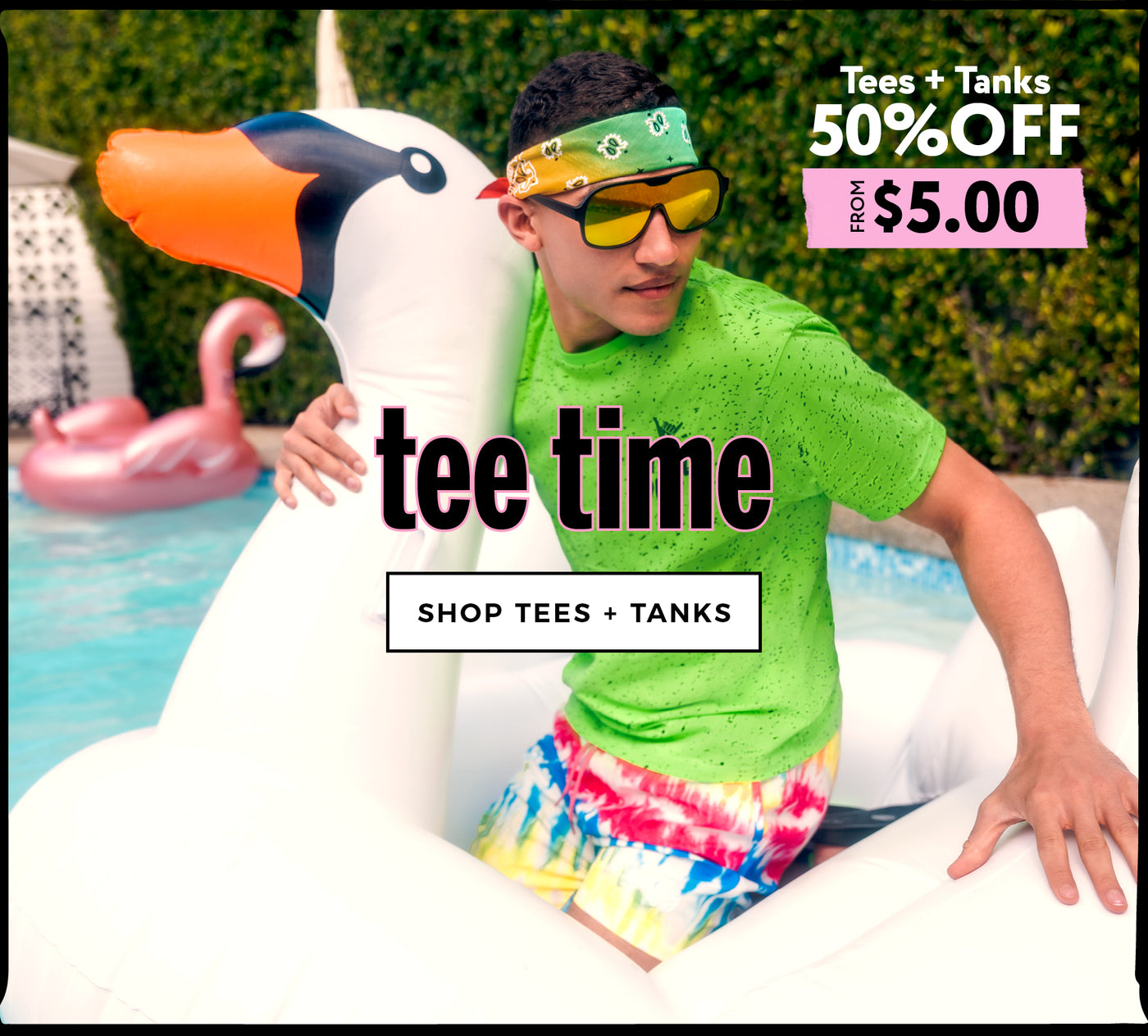 Urban Planet | Tee Time - 50% Off Men's Tees - Shop Tees + Tank