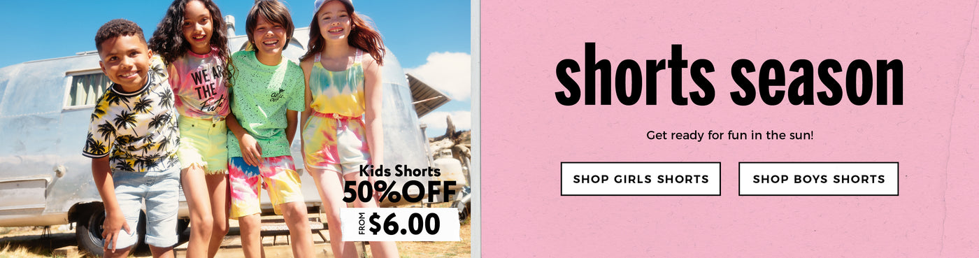 Urban Planet | Shorts Season - 50% Off Kids Shorts