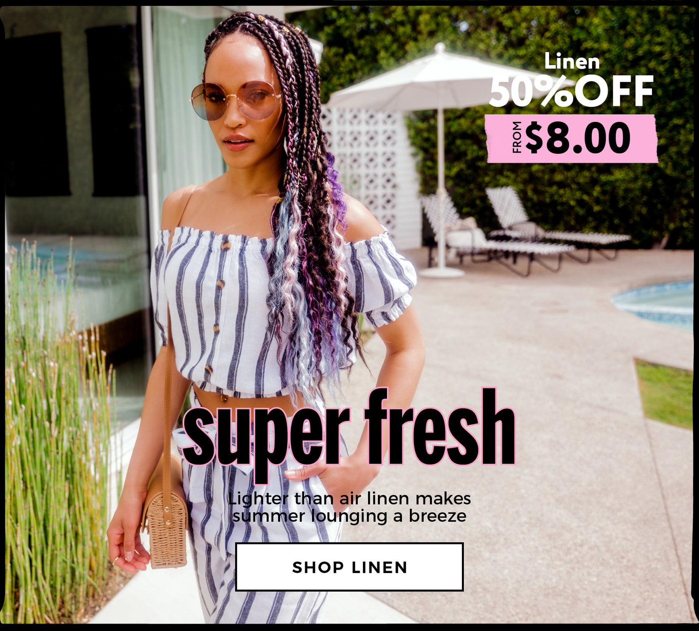 Urban Planet | Super Fresh - 50% Off Linen - Shop Linen
