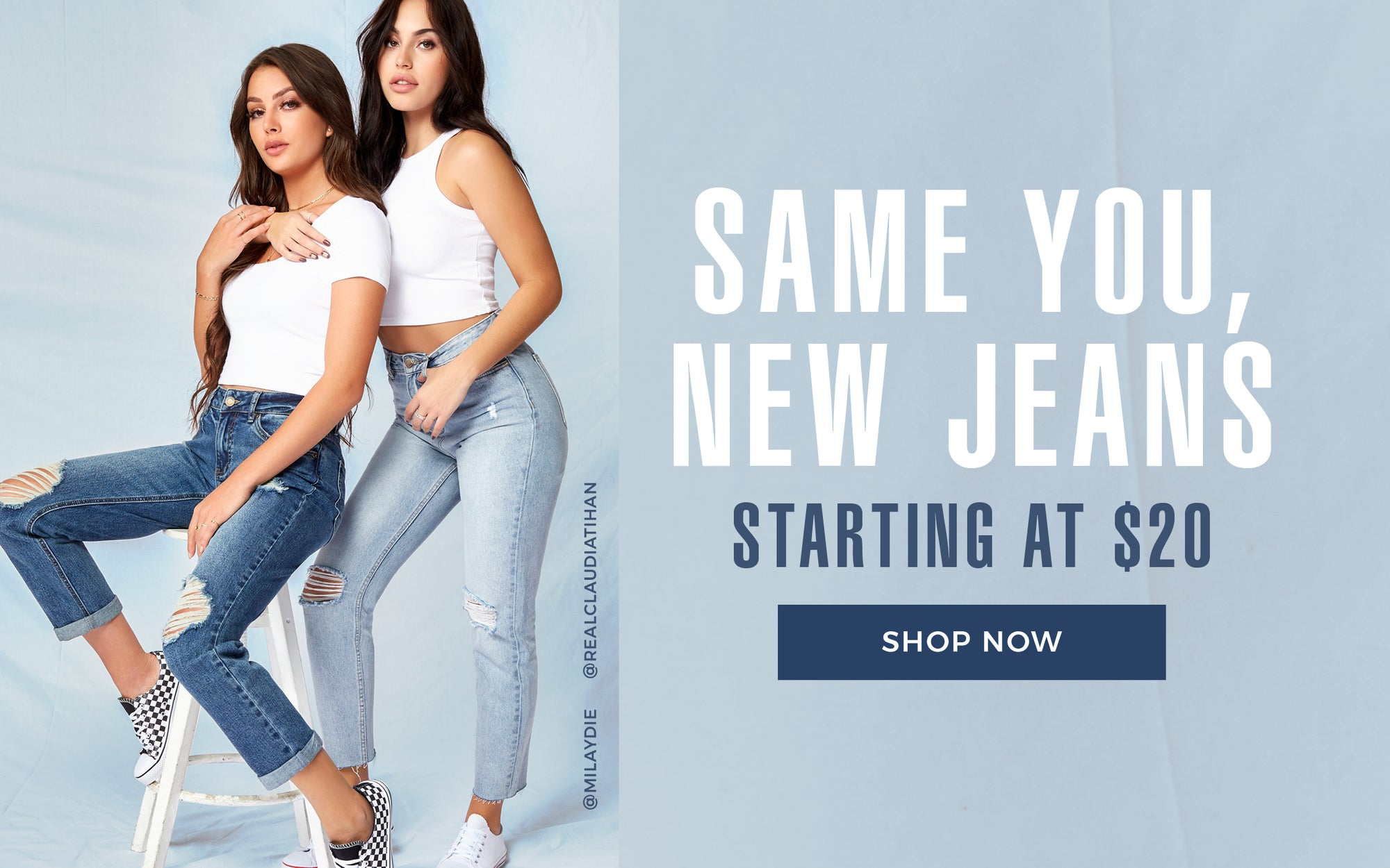Urban Planet - Same You, New Jeans - Shop now